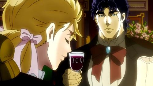 """I've never indulged before."""